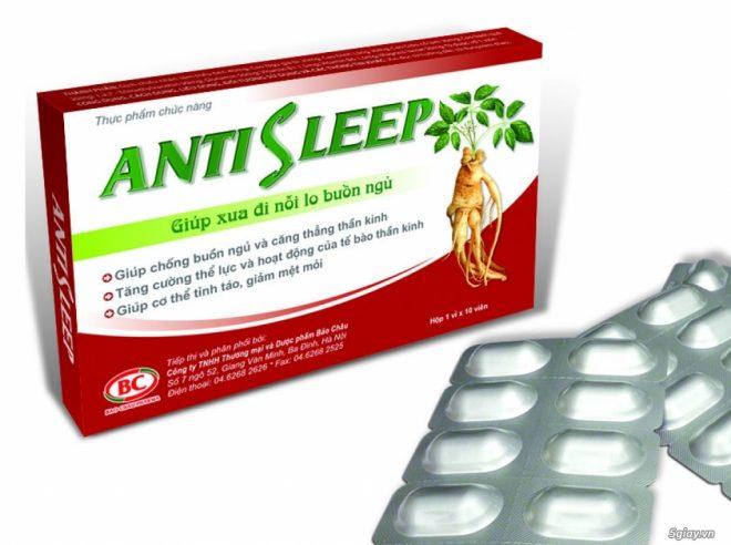 Thuốc Antisleep
