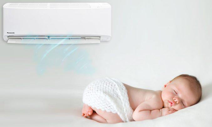 Máy lạnh Panasonic CU/CS-PU9UKH-8 được sử dụng trong gia đình