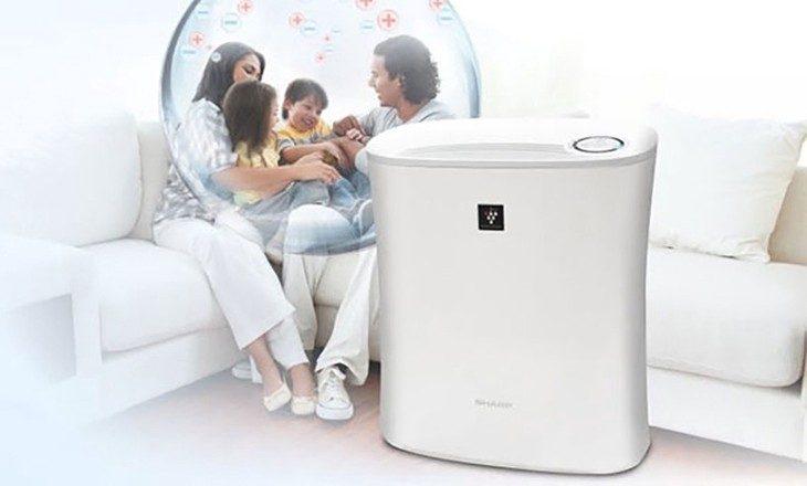 Máy lọc không khí giúp bạn và gia đình có môi trường trong sạch, không bị ô nhiễm