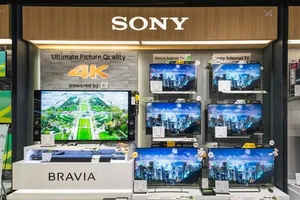 Thương hiệu Sony thuộc top đầu trong các thương hiệu chuyên sản xuất Tivi