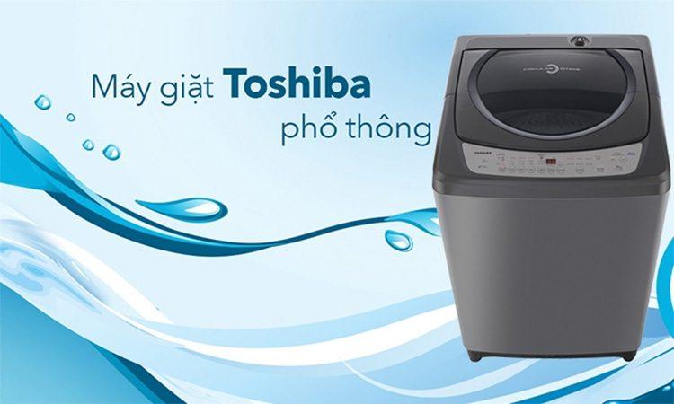 Toshiba là một trong các thương hiệu có máy giặt phổ biến nhất trên thị trường