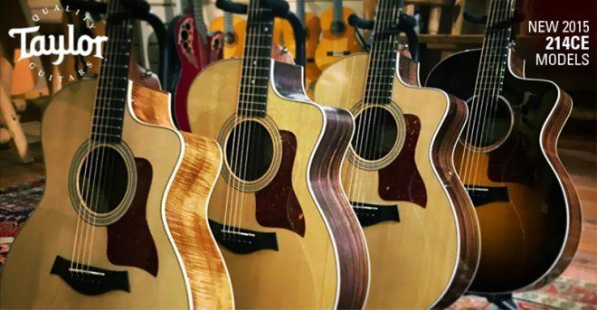 Kết quả hình ảnh cho đàn guitar taylor 214ce