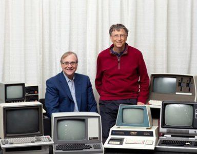 Hình ảnh quen thuộc của Bill Gates và Paul Allen qua các thời kỳ