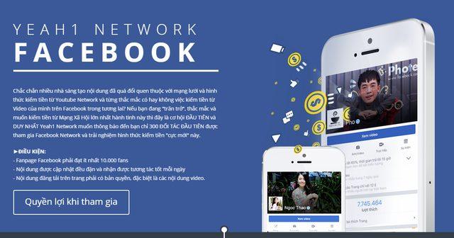 Kiếm tiền từ úng dụng facebook