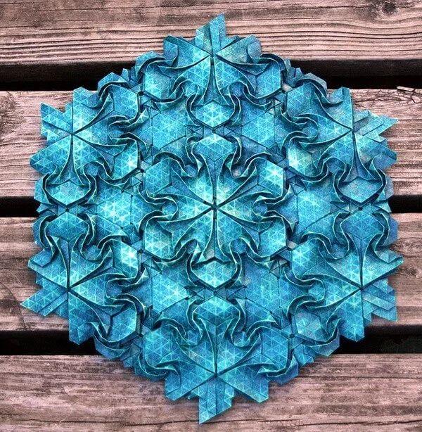 Nghệ thuật Origami cũng cần những nguyên tắc nhất định