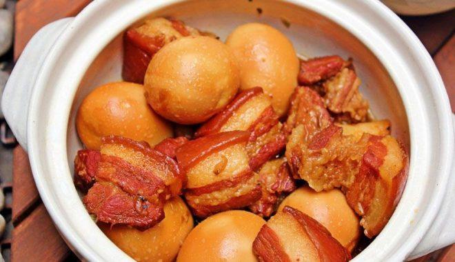 thịt kho trứng thơm ngon bổ dưỡng
