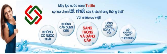 TATIFA - nhà phân phối bán lẻ máy lọc nước nhập khẩu nguyên chiếc từ Nga