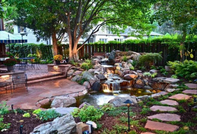 Tiểu cảnh sân vườn theo phong cách Nhật