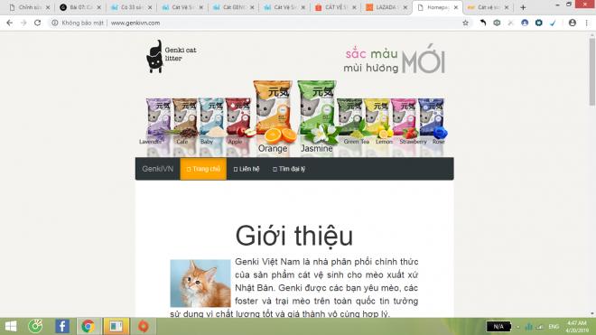 Website bán hàng chính thức của GENKI