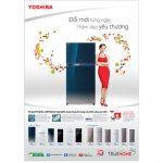 Tủ lạnh Toshiba nên chọn dòng nào bền, tiết kiệm điện