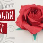 Hướng dẫn 2 cách gấp hoa hồng giấy Origami