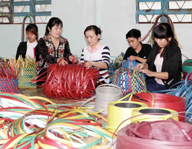 Việc làm thêm gia công đồ handmade tại nhà