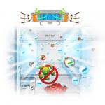 Tủ Lạnh Inverter Samsung RT22HAR4DSA/SV kiểm soát mùi hiệu quả