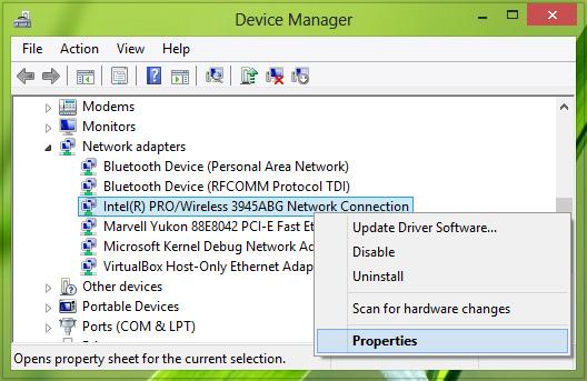 cach ket noi laptop voi tivi qua wifi direct 2