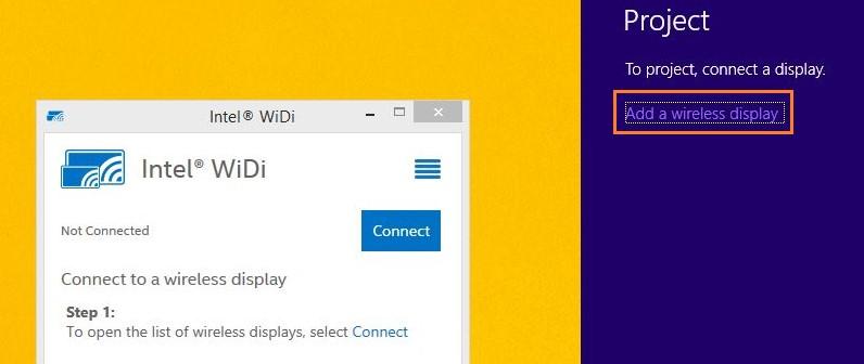 cach ket noi laptop voi tivi qua wifi direct 3