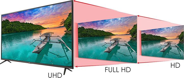 Smart Tivi TCL 50 inch 4K UHD L50P8