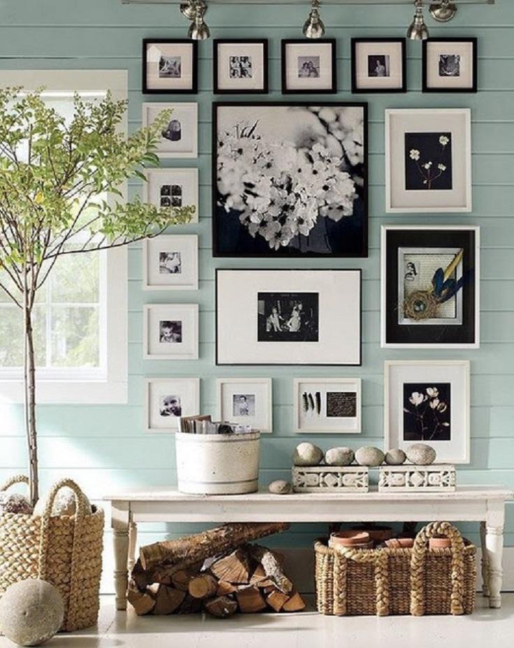 Tranh ảnh chưa bao giờ là đồ cũ trong việc trang trí căn phòng !