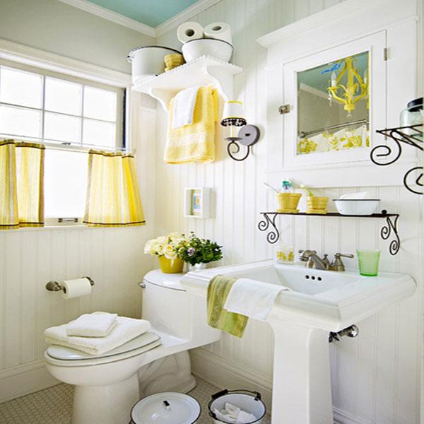 Bạn cảm thấy nhàm chán phòng tắm nhà mình? Hãy bắt tay vào việc thay đổi từ màu sức và các vật dụng nhỏ mà đa năng