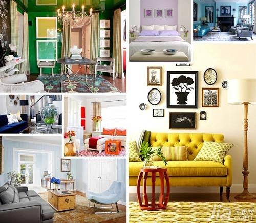 Sắp xếp màu sắc gần tương đồng hoặc đối xứng tuyệt đối bên cạnh nhau sẽ tạo nên được sự độc đáo trong trang trí nhà cửa. Hãy thử xem và cảm nhận sự mới lạ trong trang trí nhà cửa