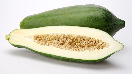 Ngoài ra, đu đủ xanh nấu kèm với rau khoai lang cũng tạo được kết quả tốt trong việc phát triển ngực