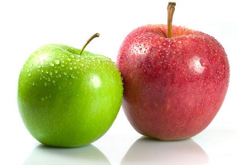 Thường xuyên ăn táo cũng là một cách giúp ngực phát triển.