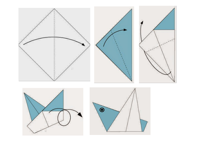 4 cach xep giay origami dep nhung don gian