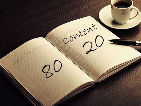 Content 80 20