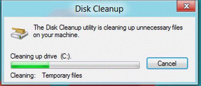 làm sạch ổ đĩa