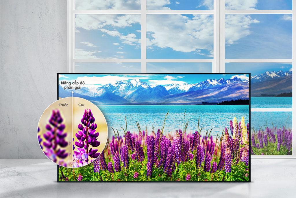 Smart Tivi LG 43 K UHD 43UJ750T cho hình ảnh cực đẹp