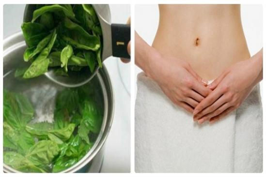 Không hề cầu kỳ trong cách chế biến, chỉ cần đun lá trà xanh với nước đến khi sôi sau đó vệ sinh vùng kín, chú ý không thụt rửa sâu trong âm đạo và làm khô lại với khăn sạch.