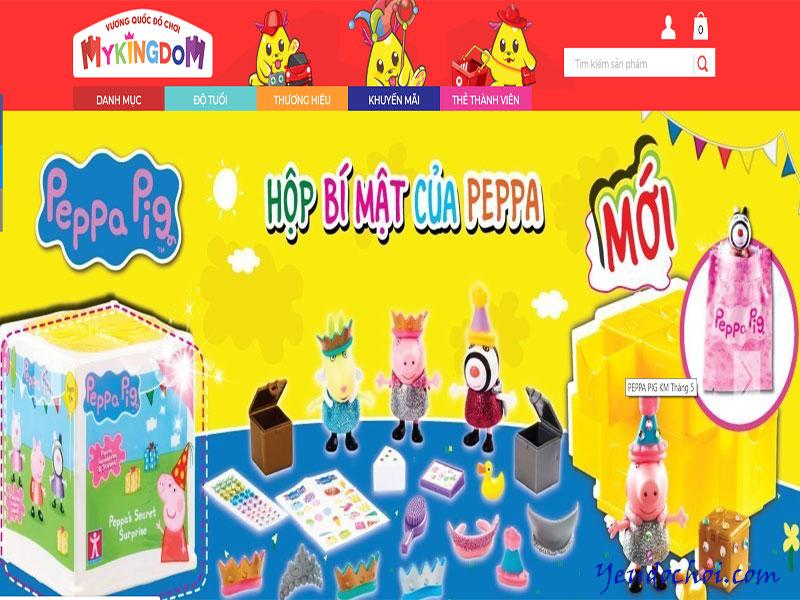 Mykingdom.com.vn – Vương quốc đồ chơi