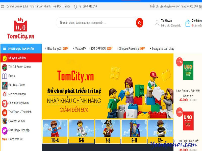 Legovietnam.vn – Trang web bán đồ chơi trẻ em