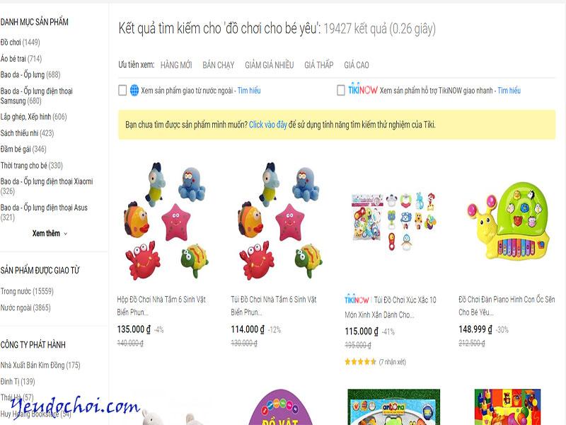 Tiki – Web thương mại điện tử uy tín
