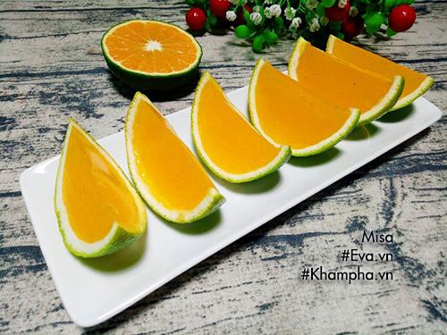 Bạn dễ dàng có ngay món thạch cam mát lạnh bổ dưỡng cho ngày hè bằng cách làm khá đơn giản