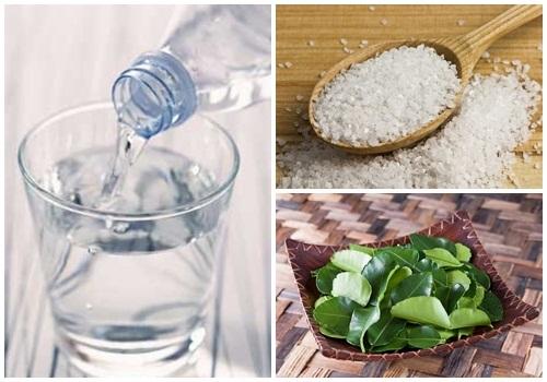 Nguyên liệu cần chuẩn bị để có nước lá chanh vô cùng đơn giản