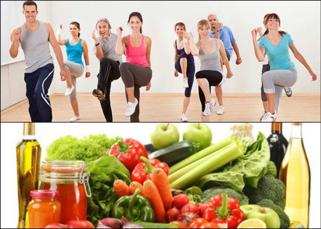 Chế độ dinh dưỡng và tập thể dục đều đặn đóng một vai trò quan trọng trong việc hướng đến cuộc sống lạc quan