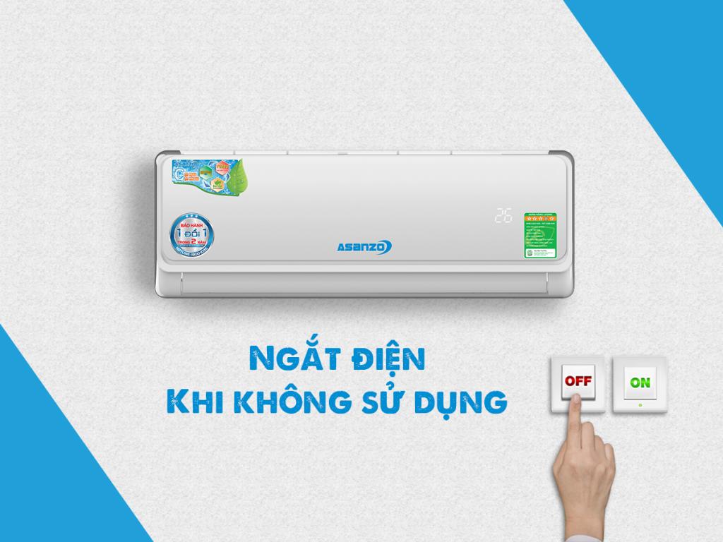 Mẹo sử dụng máy lạnh Asanzo để tiết kiệm điện và làm mát tối ưu