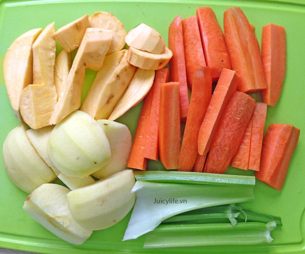 Những rau củ giàu tinh bột như khoai lang, cà rốt, khoai tây, củ cải vàng, đậu và các cây họ đậu,..đều không tốt khi bạn áp dụng chế độ giảm cân Keto