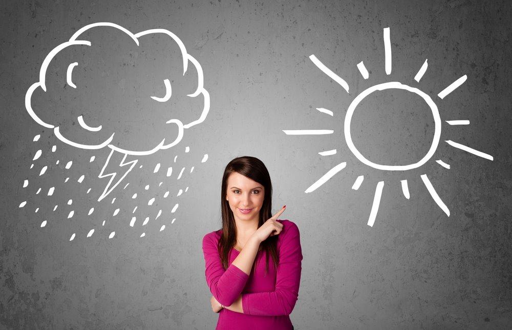 Bộ não con người ước lượng sản sinh từ 60.000 đến 70.000 ý nghĩ một ngày, rất nhiều trong số đó là những suy nghĩ tiêu cực