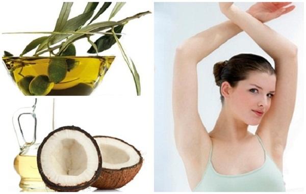 Massage dầu dừa cho vùng da dưới cánh tay trong vòng 5 phút trước khi tắm, làn da của bạn sẽ thật mịn màng và đầy sức sống.