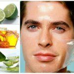 9 nguyên liệu thần kỳ trị mụn ở nam giới hiệu quả cao