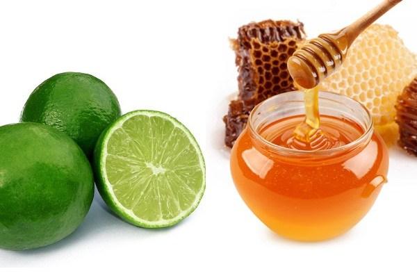 (Mặt na chanh mật ong giúp ngăn đổ dầu, làm sạch và mịn da)