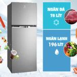 Tủ Lạnh Inverter Electrolux ETB2600MG tiết kiệm điện và khử mùi hiệu quả