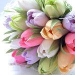 Cách làm 5 loại hoa từ giấy nhún ĐƠN GIẢN nhưng SIÊU ĐẸP