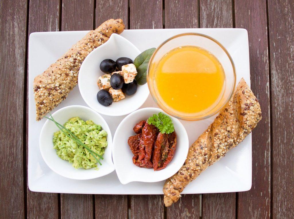 Bữa sáng dinh dưỡng giàu năng lượng