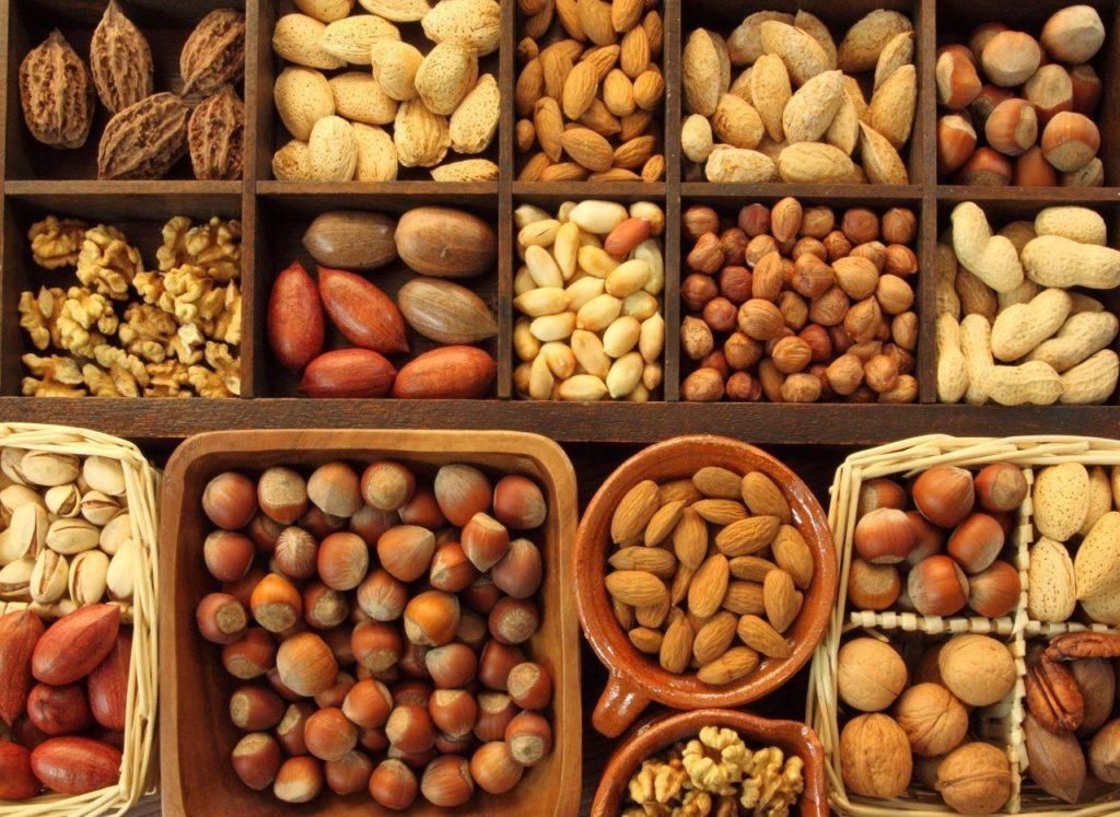 Các loại hạt cung cấp đạm cho bữa ăn