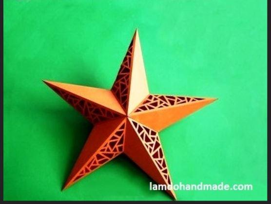 Lồng đèn ngôi sao 5 cánh
