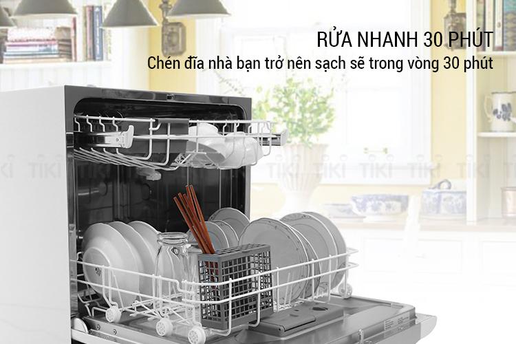 Máy rửa chén bát tiện lợi