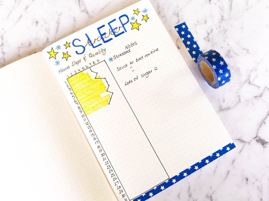 Sleep Tracker For Bullet Journal 3 e1544677662681