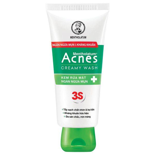 acnes creamy wash kem rua mat tri mun acnes 600x600
